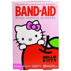 Band Aid, Adhesive Bandages, Hello Kitty, 20 Assorted Sizes Historyczne