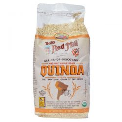 Bob's Red Mill, Organic Whole Grain Quinoa, 26 oz (737 g)