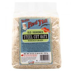 Bob's Red Mill, Steel Cut Oats, 54 oz (3 lbs 6 oz) 1,531 g Pozostałe
