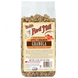 Bob's Red Mill, Original Whole Grain Apple Cinnamon Granola, 12 oz (340 g) Historyczne