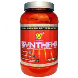 BSN, Syntha-6, Protein Powder Drink Mix, Chocolate Milkshake, 2.91 lbs (1.32 kg) Historyczne