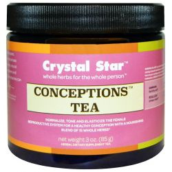 Crystal Star, Conceptions Tea, 3 oz (85 g) Historyczne