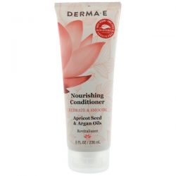 Derma E, Nourishing Conditioner, Hydrate & Smooth, Apricot & Argan Oils, 8 fl oz (236 ml)