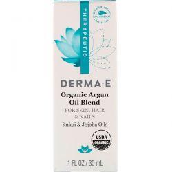 Derma E, Organic Argan Oil Blend, 1 fl oz (30 ml)
