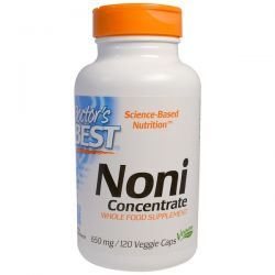 Doctor's Best, Noni Concentrate, 650 mg, 120 Veggie Caps Historyczne
