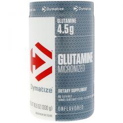Dymatize Nutrition, Glutamine Micronized, Unflavored, 10.6 oz (300 g)
