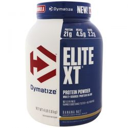Dymatize Nutrition, Elite XT, Protein Powder, Banana Nut, 4 lb (1.8 kg)