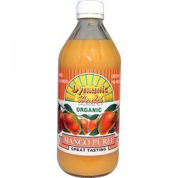 Dynamic Health  Laboratories, Organic, Mango Puree, 16 fl oz (473 ml)