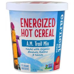 Earnest Eats, Energized Hot Cereal, A.M. Trail Mix, 2.1 oz (60 g) Pozostałe