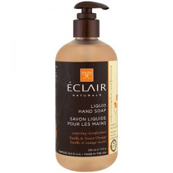 Eclair Naturals, Liquid Hand Soap, Vanilla & Sweet Orange, 12 fl oz (355 ml) Historyczne