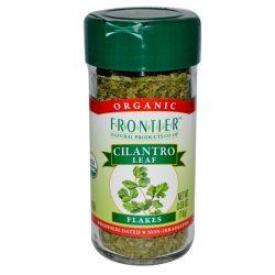 Frontier Natural Products, Organic Cilantro Leaf, Flakes, 0.56 oz (16 g) Historyczne