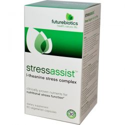 FutureBiotics, Stressassist, 60 Veggie Caps