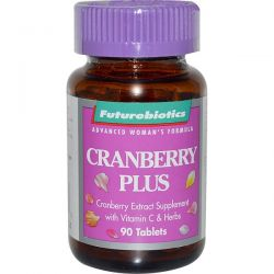 FutureBiotics, Cranberry Plus, 90 Tablets