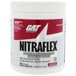 GAT, Nitraflex, Fruit Punch, 10.6 oz (300 g)