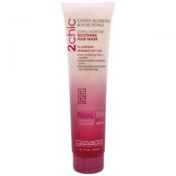 Giovanni, 2chic, Ultra-Luxurious, Soothing Hair Mask, Cherry Blossom & Rose Petals, 5.1 fl oz (150 ml)