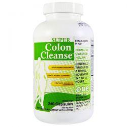 Health Plus Inc., Super Colon Cleanse, 500 mg, 240 Capsules