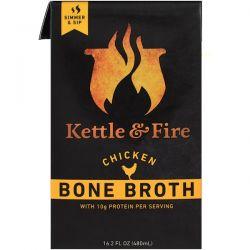 Kettle & Fire, Bone Broth, Chicken, 16.2 fl oz (480 ml)