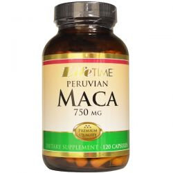 Life Time, Peruvian Maca, 750 mg, 120 Capsules Country