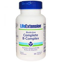 Life Extension, BioActive Complete B-Complex, 60 Veggie Caps Historyczne