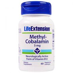 Life Extension, Methyl-Cobalamin, 5 mg, 60 Vegetarian Lozenges Pozostałe