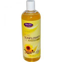 Life Flo Health, Pure Sunflower Oil, 16 fl oz (473 ml) Historyczne