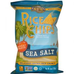 Lundberg, Rice Chips, Sea Salt, 6 oz (170 g) Country