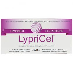 LypriCel, Liposomal Glutathione, 30 Packets, 0.2 fl oz (5.4 ml) Each