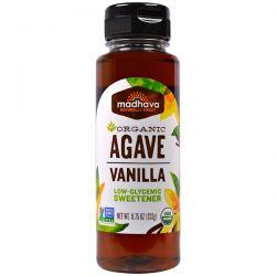 Madhava Natural Sweeteners, Organic Agave, Vanilla, 11.75 oz (333 g) Pozostałe