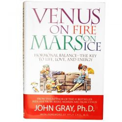Natural Factors, Venus On Fire Mars On Ice, 253 Pages, Hardback Book