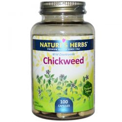 Nature's Herbs, Chickweed, 100 Capsules Country