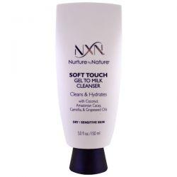 NXN, Nurture by Nature, Soft touch Gel to Milk Cleanser, Dry / Sensitive Skin, 5 fl oz (150 ml)