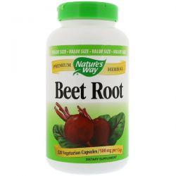 Nature's Way, Beet Root, 500 mg, 320 Vegetarian Capsules