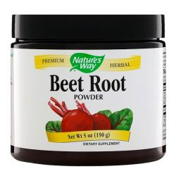 Nature's Way, Beet Root Powder, 5 oz (150 g) Historyczne