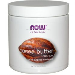 Now Foods, Solutions, Cocoa Butter, 7 fl oz (207 ml) Country