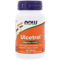 Now Foods, Ulcetrol, 60 Tablets Historyczne