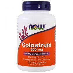 Now Foods, Colostrum, 500 mg, 120 Veggie Caps Historyczne