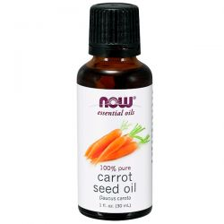 Now Foods, Essential Oils, Carrot Seed Oil, 1 fl. oz. (30 ml)