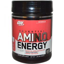 Optimum Nutrition, Essential Amino Energy, Watermelon, 1.29 lbs (585 g) Historyczne