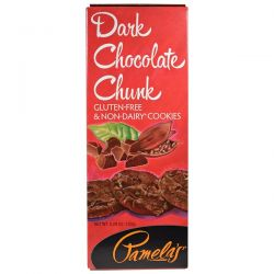Pamela's Products, Dark Chocolate Chunk Cookies, 5.29 oz (150 g) Historyczne