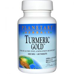 Planetary Herbals, Turmeric Gold, 500 mg, 60 Tablets Country