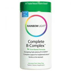 Rainbow Light, Complete B-Complex, Food Based Formula, 90 Tablets Historyczne