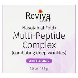 Reviva Labs, Nasolabial Fold+, Multi-Peptide Complex, 2 oz (55 g) Historyczne