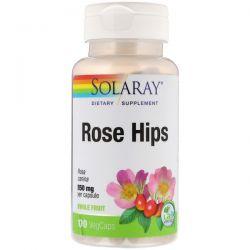 Solaray, Rose Hips, 550 mg, 100 VegCaps