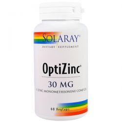 Solaray, OptiZinc, 30 mg, 60 Veggie Caps Pozostałe