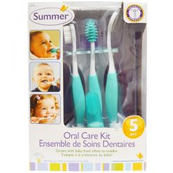 Summer Infant, Oral Care Kit, 5 Piece Kit Historyczne