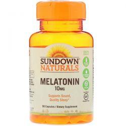 Sundown Naturals, Melatonin, 10 mg, 90 Capsules Country