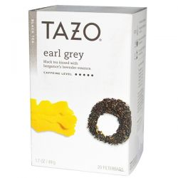 Tazo Teas, Earl Grey, Black Tea, 20 Filterbags, 1.7 oz (49 g) Historyczne