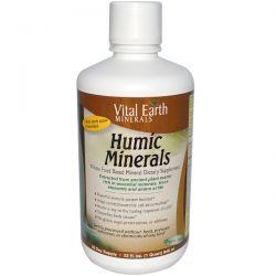 Vital Earth Minerals, Humic Minerals, 32 fl oz (946 ml) Country