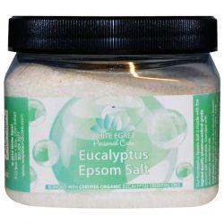 White Egret Personal Care, Eucalyptus Epsom Salt, 16 oz Pozostałe