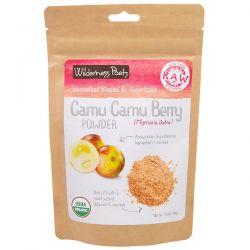 Wilderness Poets, Living Raw Foods, Camu Camu Berry Powder, 3.5 oz (99 g) Historyczne